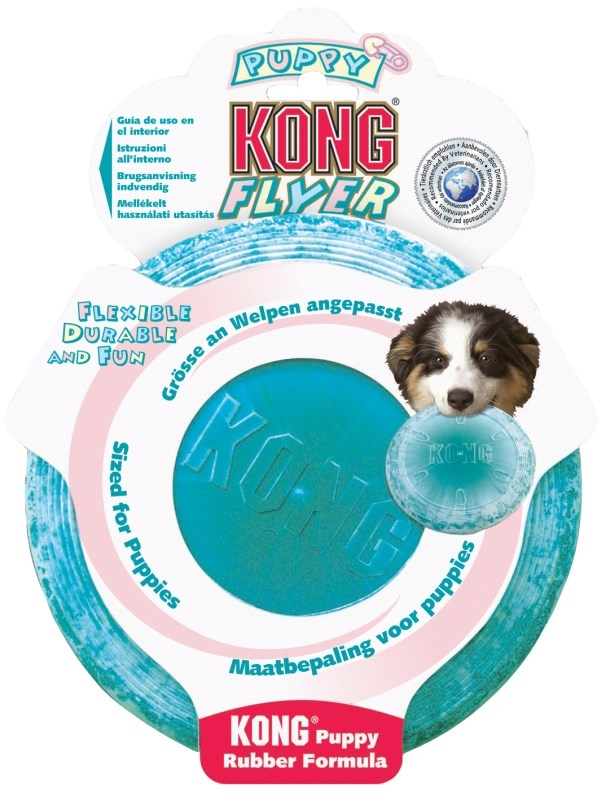 Kong Puppy Flyer Freesbee