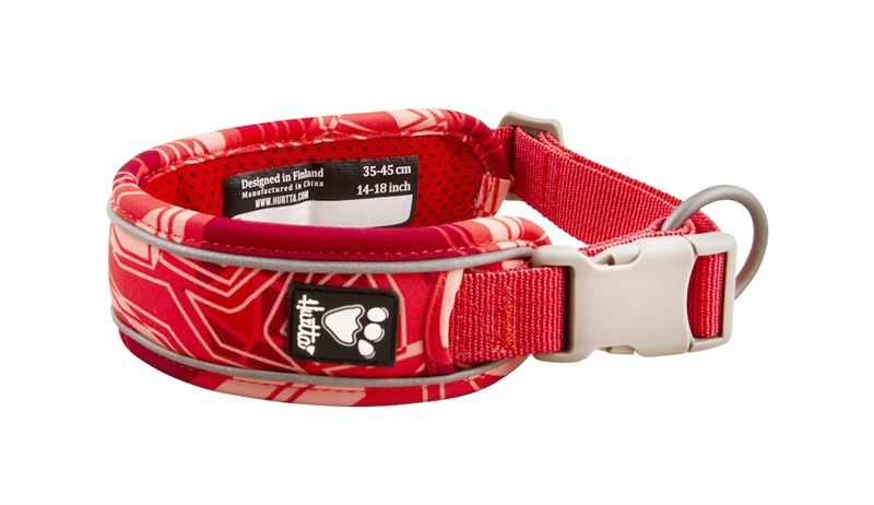 Hurtta Weekend Warrior Halsband Coral Camo