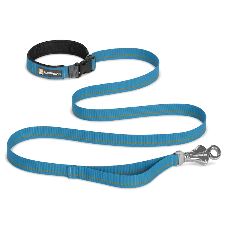 Ruffwear Flat Out Leash Blue Mountains Koppel