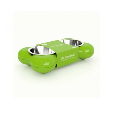 Dog Bone Bowl grön